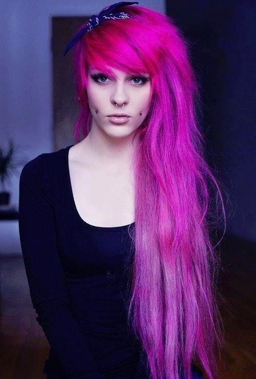 Hot Pink Hair Dianastylist Com